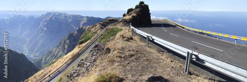Fotografia, Obraz  Route de montagne à Madère