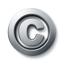 3d Rendering Of The Copyright ...
