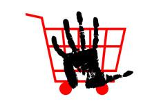 Shopping Cart, Stop Hand