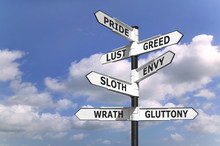 Concept Image Of A Signpost Wi...