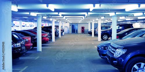 Fototapeta parking interior obraz