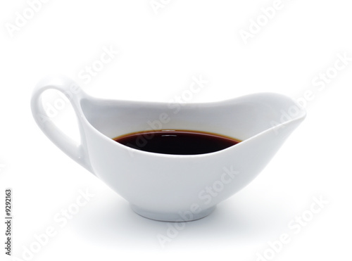 Japanese or Chinese Soy Sauce in Suace-boat