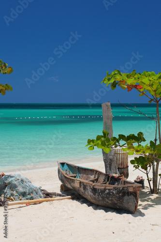 Fotografie, Obraz  Seven Mile Beach, Negril, Jamaica