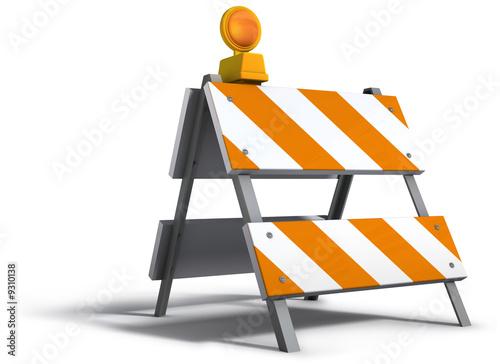 Photo Construction barricade