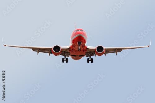 Fotografia  Atterrissage Boeing 737-800