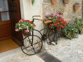 Fototapeta na wymiar Ancienne bicyclette