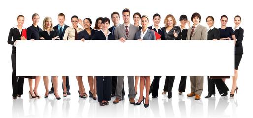 Naklejka business people