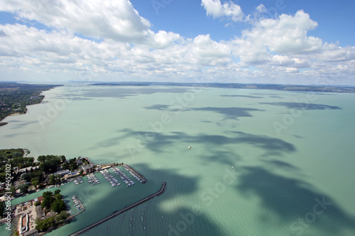 Valokuva  Luftaufnahme Siofok 2008