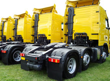 Rear Of The Lorries