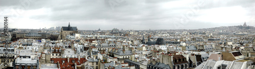 paris skyline #9480144