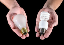 An Offering Of Two Different Light Bulbs