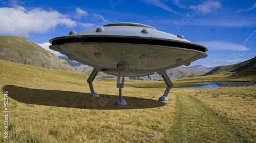 Foto op Plexiglas UFO OVNI
