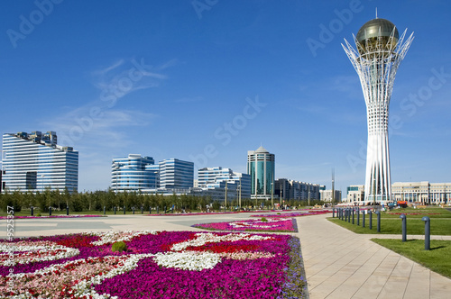 Astana - Bayterek Tower Canvas Print