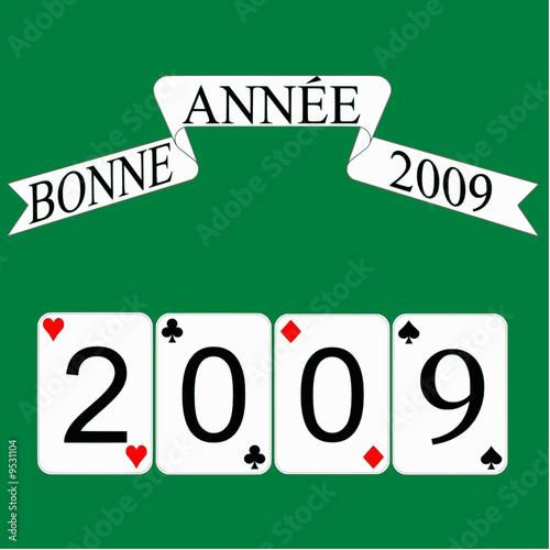 bonnes cartes pour 2009 Poster