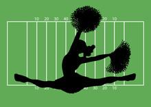 Football Cheerleader 2