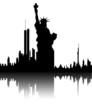 riflesso statua della libertà