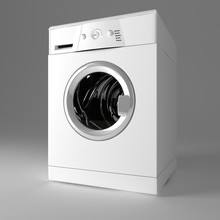 3d Image Of Classic Washing Ma...