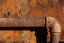 Rysty Steel Water-main Pipe