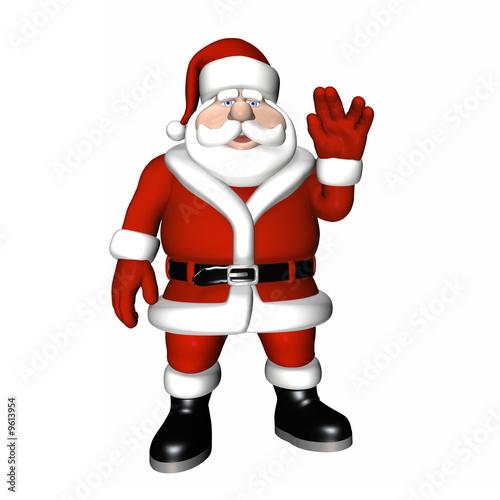 Photo  Santa Pose - Live Long and Prosper.