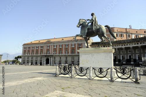 Fényképezés  Piazza del Plebiscito - Napoli Campania