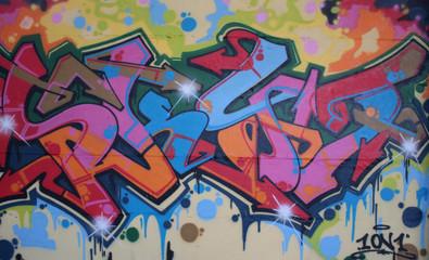 Fototapeta samoprzylepna Graffiti Streetart Berlin