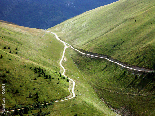 Fotografia, Obraz Chemins de montagne