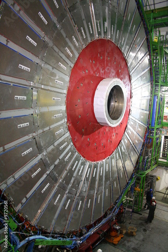 Photo CMS Detector at LHC, CERN