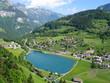 village suisse en montagne