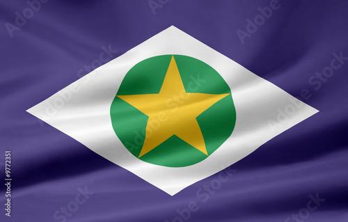 Fotografija  Flagge von Mato Grosso - Brasilien