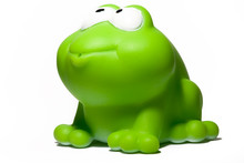 Green Toy Frog