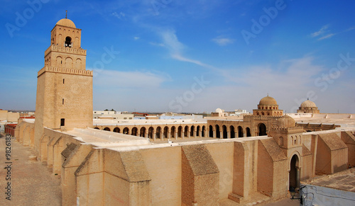 Wall Murals Tunisia Great Mosque of Kairouan, Tunisia, africa