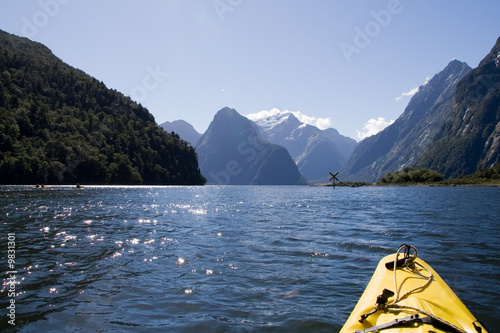 Fotografie, Tablou  Milford Sound, New Zealand - Kayak Tour