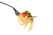 Spaghetti Fork Isolated