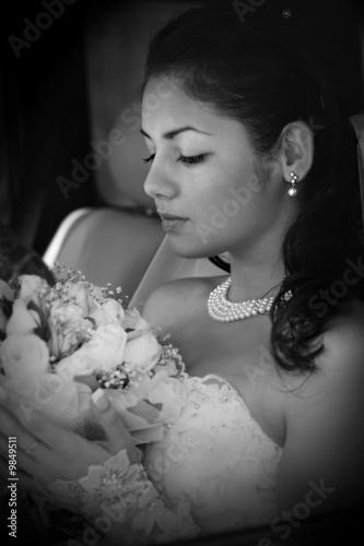 Fotografie, Tablou Portrait of the beautiful bride