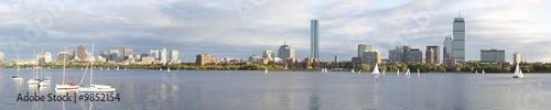 Poster Gris Boston panoramic