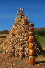 Pumpkin Puppets Totem Pole On ...