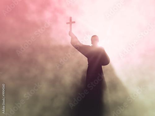 Fotografie, Obraz  preacher
