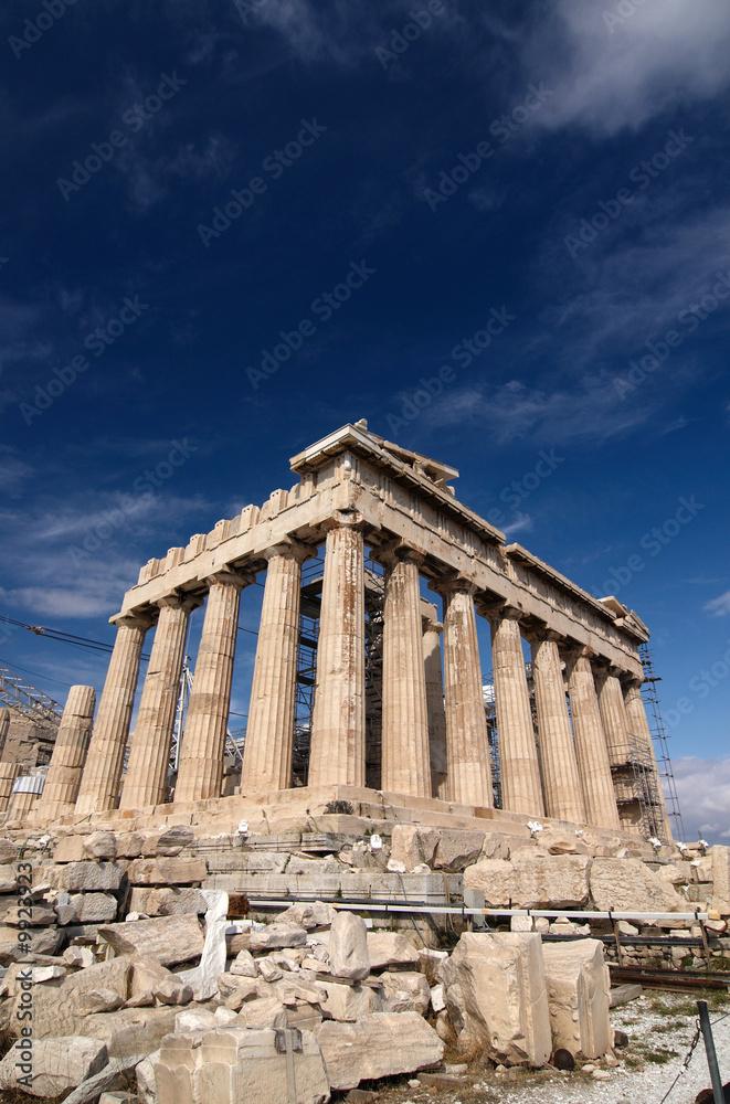 Foto-Fahne - Parthenon, Acropolis, Athens, Greece