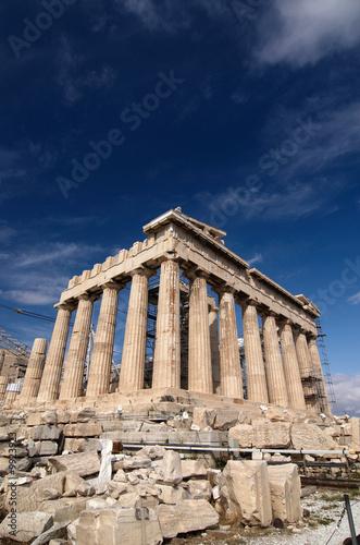 Foto-Fußmatte - Parthenon, Acropolis, Athens, Greece (von lexan)