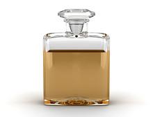 Perfume Bottle Isolated On Whi...