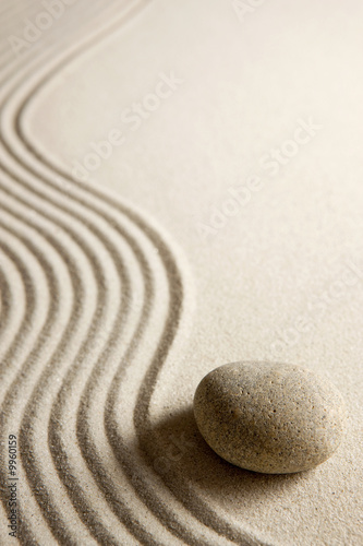 Keuken foto achterwand Zen Zen stone
