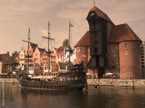 obraz PCV Gdańsk
