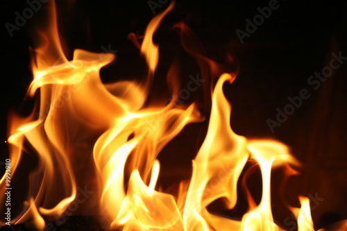 Fire flames background texture #9993980