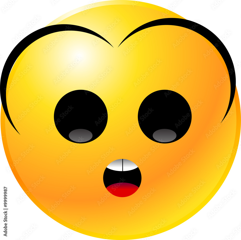 Fototapeta vector clipart illustrations of emoticon Smiley face