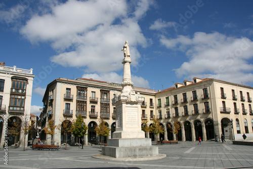 Plaza Santa Teresa (Saint Theresa) in Avila, Castilla, Spain