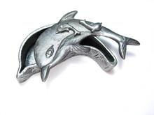 Silver Dolphin Jewelry Box