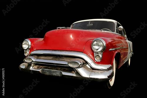 Red Muscle Car Fototapet