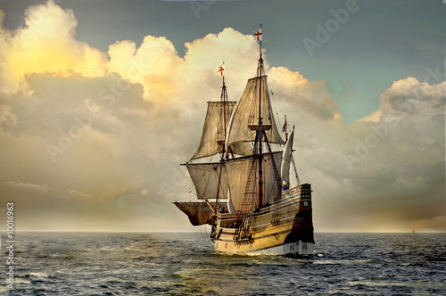 Mayflower II Wallpaper Mural