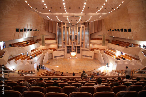 Fotomural Concert hall with organ