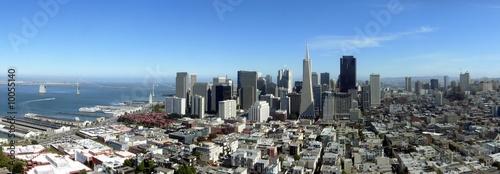 Keuken foto achterwand San Francisco San Francisco Downtown Panorama